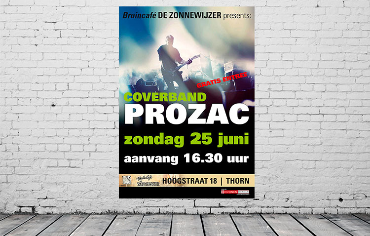 Coverband Prozac